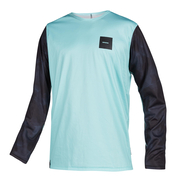 MYSTIC Majestic L/S Quickdry Black/Mint