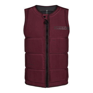 MYSTIC Star Impact Vest Fzip Wake CE Oxblood Red
