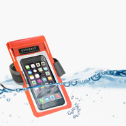 Phonepoket Zulupack wasserdichte Tasche orange