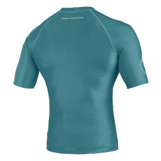 NEILPRYDE Rashguard Mission S/S C2 hot teal/legion blue