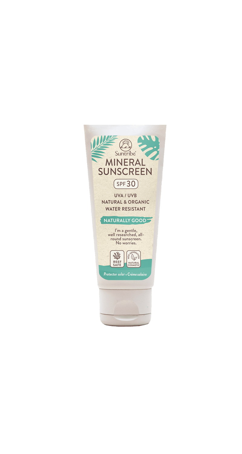 Suntribe All Natural Mineral Sunscreen SPF 30 (100 ML) SUN6-SUNSCREEN-100ML