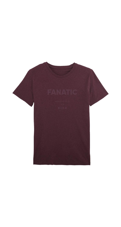 FANATIC T-Shirt Fanatic heather grape red 13202-5023