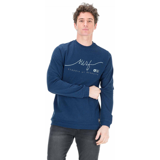 Picture Surfer Crew Sweater dark blue