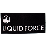 Liquid Force Logo Towel Handtuch black