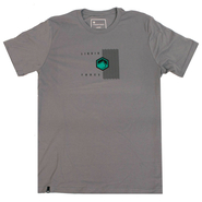 Liquid Force Asym Strom Tee Shirt grey