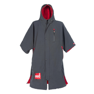 Premium Poncho Pro Change Robe Red Paddle grey