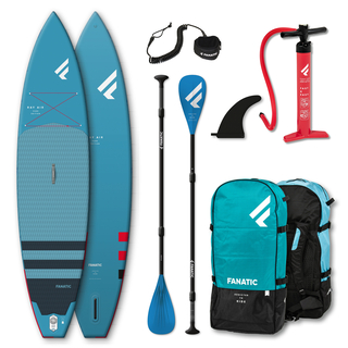 Fanatic Package Ray Air 116 + Pure 3-teiliges Paddel