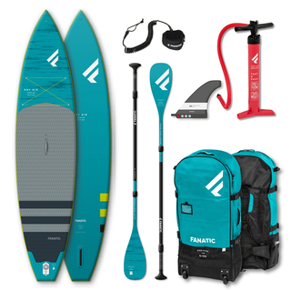 Fanatic Package Ray Air Premium 136 + Carbon 35 3-teiliges Paddel