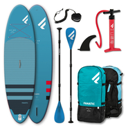 Fanatic Package Fly Air 104 + Pure 3-teiliges Paddel