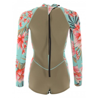 Billabong Spring Fever Langarm-Shorty 2mm Back-Zip Aloe