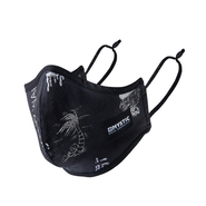 Mystic Brand Mask Black/White