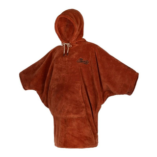 MYSTIC Poncho Teddy Women Rusty Red O/S