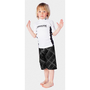 STAR Rash Vest Kids Mystic Kurzarm white