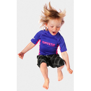 STAR Rash Vest Kids Mystic Kurzarm purple