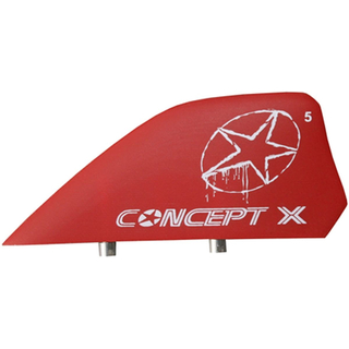 G10 Kite Finne Concept X 4.0cm red