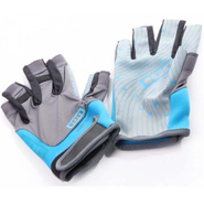 AMARA GLOVES HALF FINGER Handschuh ION blue/grey