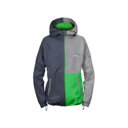TIGHT Windbreaker Schwerelosigkite Women asphalt/green