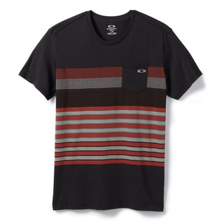 POCKET STRIPE TEE T-Shirt Oakley jet black