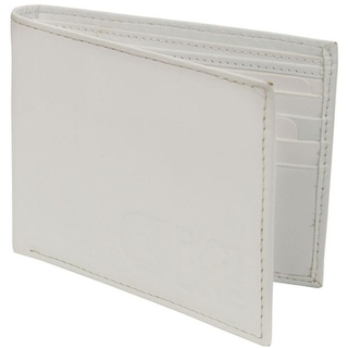 CLASSIC Leather Wallet Picture Geldbörse white