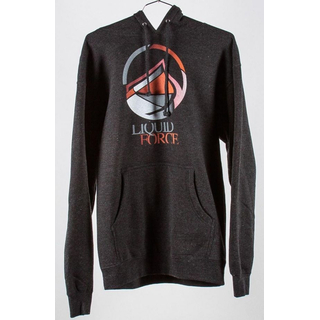 BROKEN Hoody Liquid Force charcoal heather