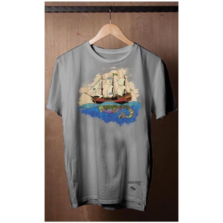 SHIPWORTHY TEE T-Shirt Liquid Force warm grey
