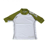 WATER KID UV-Shirt Camaro Kurzarm green/white