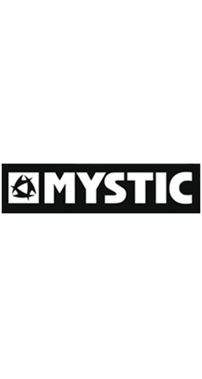 MYSTIC Aufkleber black/white Mysti.kleber