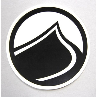 DROP Sticker Liquid Force 11cm black