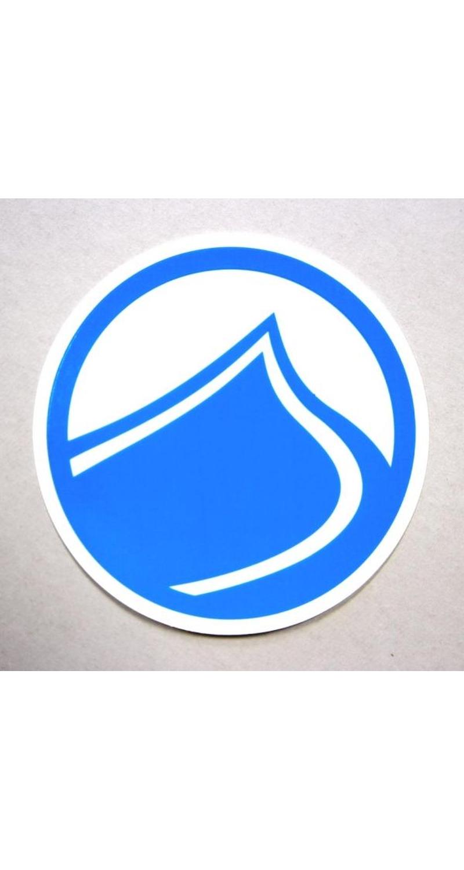 Liquid Force Wakeboard DROP Sticker Liquid Force 11cm blue LF2155614