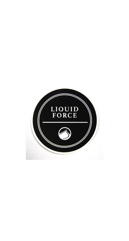 Liquid Force Wakeboard RIVERA Sticker Liquid Force 10cm black LF2155615