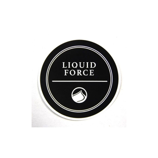 RIVERA Sticker Liquid Force 10cm black