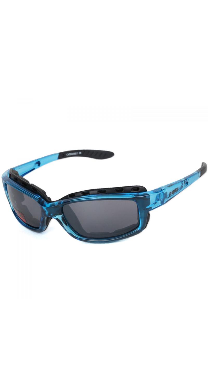 STYLER BASIC Sportbrille JC-Optics Sonnenbrille crystal blue EBSTCB15