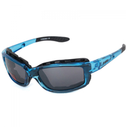 STYLER BASIC Sportbrille JC-Optics Sonnenbrille crystal blue