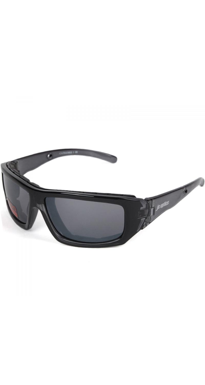 SMALL BASIC Styler Sportbrille JC-Optics Sonnenbrille crystal black EBJU01cb