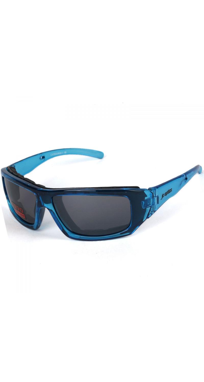 SMALL BASIC Styler Sportbrille JC-Optics Sonnenbrille crystal blue EBJU01BC