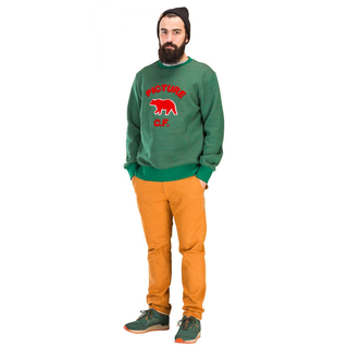 HUDSON Sweater Picture green