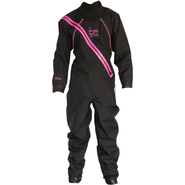 SUP PERFORMANCE Trockenanzug Dry Fashion schwarz/neon pink