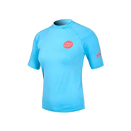 CONTENDER UV-Shirt NP Women Kurzarm blue
