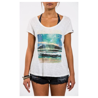 CAPE POINT T-Shirt Mystic off white