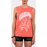 BARFLY Tanktop Mystic faded coral L 40