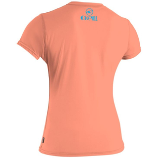 WOMENS SKINS UV-Shirt O`Neill Kurzarm light grapefruit