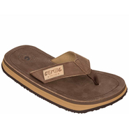 Zehentrenner Leder Cool Shoe ORIGINAL DELUXE brown