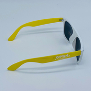 ACE POLARIZED Sonnenbrille Cool Shoe white/yellow