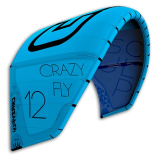 SCULP - CRAZY FLY Duftbaum Fresh Kitesurfing apple cinnamon blue