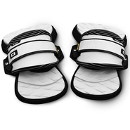 UNION COMFORT Pads + Straps Core Set black/white