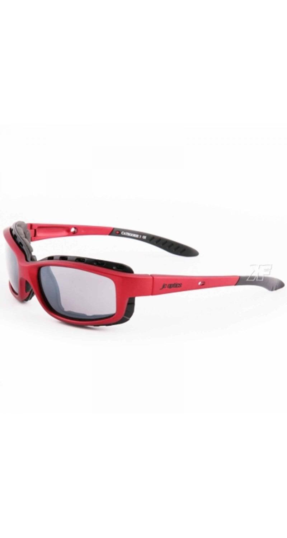 STYLER BASIC Sportbrille JC-Optics Sonnenbrille matt aluminium red EBST002