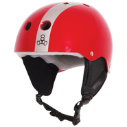 FLASH COMP Helm Liquid Force red/silver