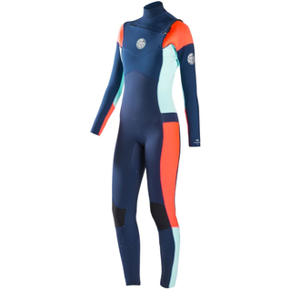 DAWN PATROL Front-Zip Neoprenanzug Rip Curl Women kaschiert 5/3mm navy