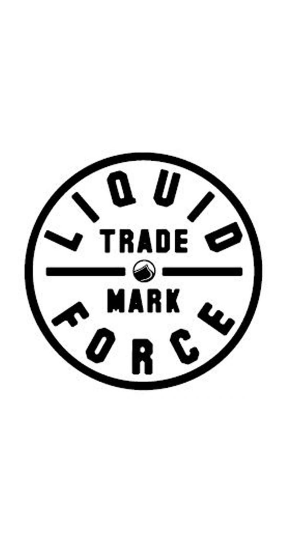 "Liquid Force Wakeboard TRADEMARK Aufkleber Liquid Force 3.5"""