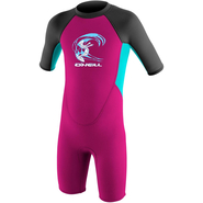 ONeill Reactor Toddler Shorty 2mm berry/ltaqua/graphite
